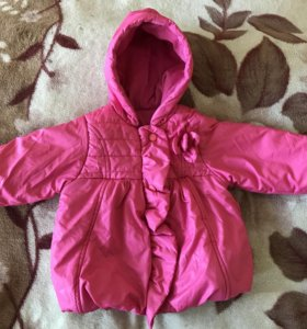 Куртка на девочку весна-осень на 1,5-2 года