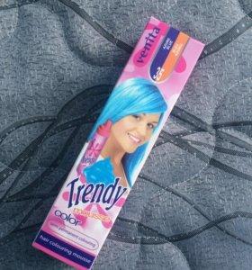 Красящий мусс для волос