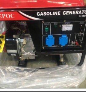 Бензогенератор 2,8 кВт АМПЕРОС LT3500CL