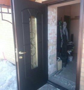 Установка дверей,  решеток.