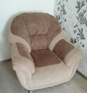 Мягкий уголок (диван, два кресла)