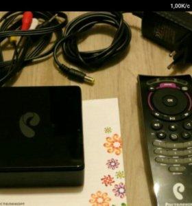 ТВ приставка с Wi-Fi Ростелеком Интерактивное ТВ 2