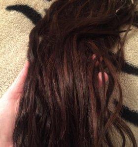 Волосы натуральные 40 см