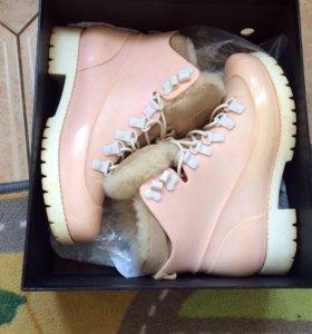 Женские ботинки 38 р