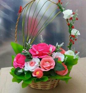 Декоративные конфетные корзины на любой праздник!