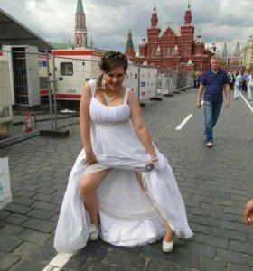 Свадебное платье 46 размера