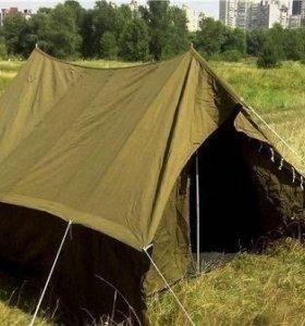 Советская брезентовая палатка