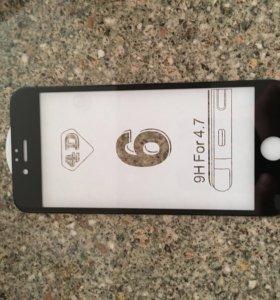 Стекло 3D на айфон 6 6 s
