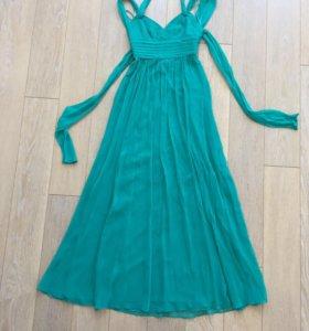 Шелковое платье BCBG MaxAzria новое 40р