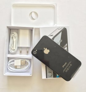 iPhone 4s 16 gb black новый