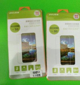 Защитное стекло на Jiayu s3