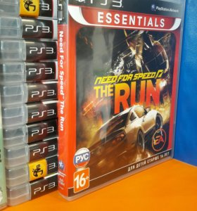 Need for Speed the Run Sony Playstation 3 PS3