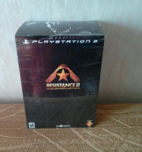 Resistance 2 collection edition для ps3