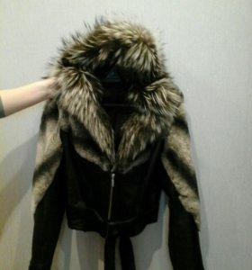 Куртка кожоная натуральная