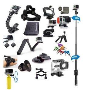 Крепления и аксессуары для экшн-камер GoPro