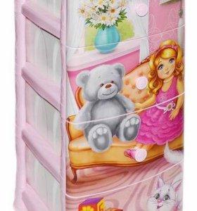 """Комод ящик детский """"кукла"""" для игрушек"""