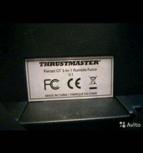 Руль thrustmaster Ferrari Get 3-in-1 rumble Force