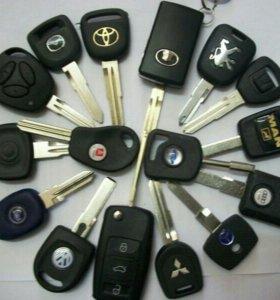 Ключи для авто, чипы для автозапуска