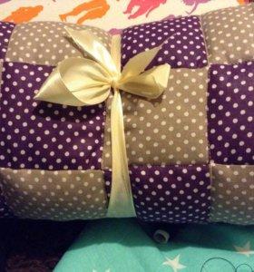 Стеганое одеяло, можно использовать как конверт