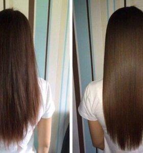 Ламенирование волос