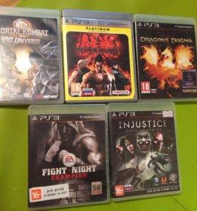 Коробки от дисков PS3