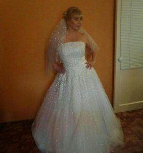 Свадебное платье в голицыно