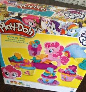 Play doh набор My little Pony