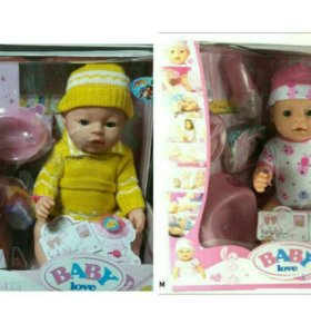 Новая кукла пупс аналог беби борн доставка