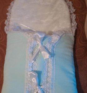 Конверт на выписку и после+одеяло