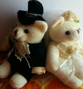 """Мишки """"Жених и невеста"""""""
