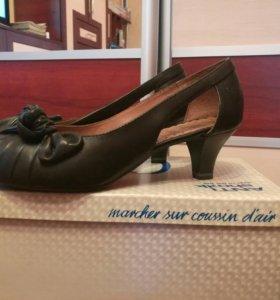 Новые туфли. Натуральная кожа. 38,5