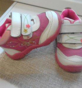 Ботиночки на девочку 20 размер