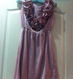 Платье + серьги