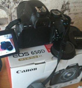 Canon EOS 650D kit EF-S 18-55 III