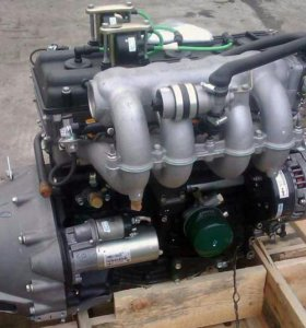 Двигатель новый Газель 405 с навесным.
