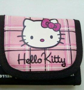 Новый кошелек Hello Kitty фирменный