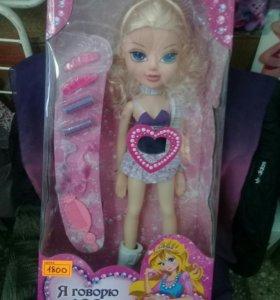 Кукла говорит 100фраз