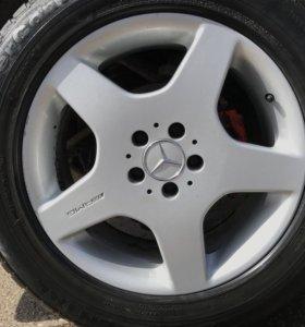 Колёсные диски на мерседес AMG