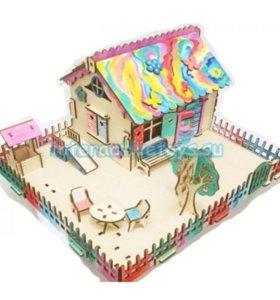 Кукольный домик-конструктор