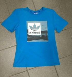 Новая мужская футболка, размер 48-50