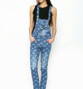 Новые джинсовые и хлопковые комбинезоны для всех