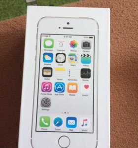 IPone 5s silver 16 gb