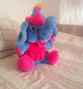 Плюшевый Слон НОВЫЙ