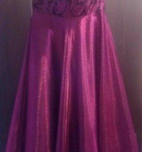 Платье для девочки 7-11 лет