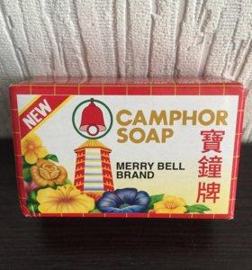 Безсульфатное камфорное мыло
