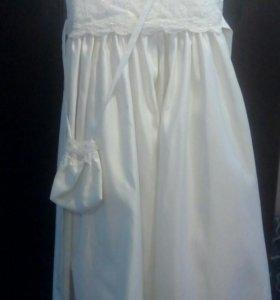 Платье для девочки 6-9 лет