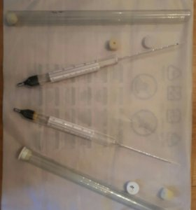 Ареометры для измерения плотности пивного сусла