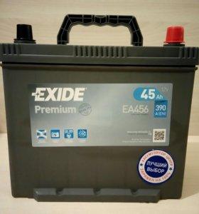 Аккумулятор Exide Premium 45 А/Ч 390 А