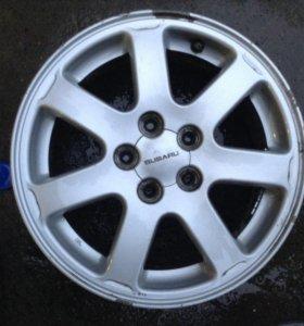 Литьё Subaru 2шт