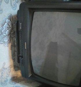 Телевизор горизонт на запчасти